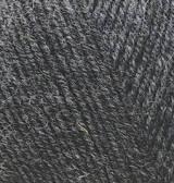 Нитки Alize Lanagold Fine 521 Темно-серый меланж, фото 2