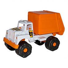 Мусоровоз  Макс, оранжевый с белым «Maximus» (5189)