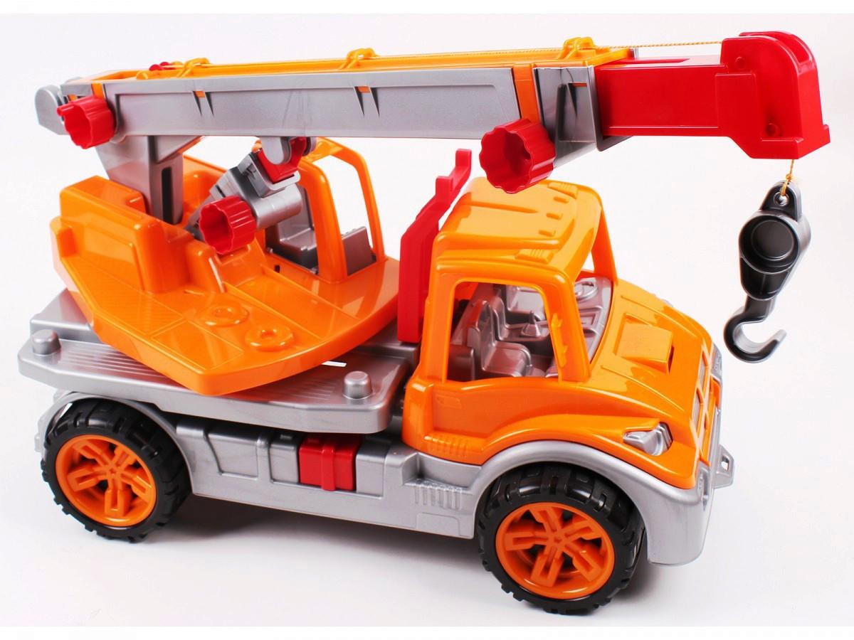 Автомобільний кран (помаранчевий) «ТехноК» (3695)
