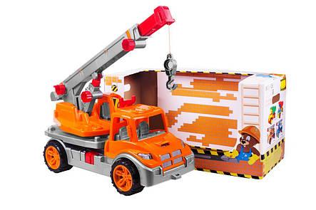 Автомобільний кран (помаранчевий) «ТехноК» (3695), фото 2