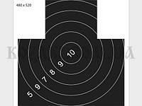 Мишень 480 х 520 мм Грудная