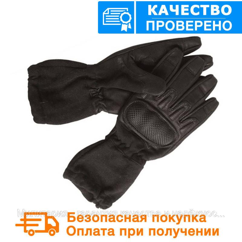 Тактические перчатки MIL-TEC удлиненные огнеупорные Black (12520102)