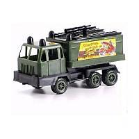 Игрушечные машинки и техника «Maximus» (5169) Пожарная машина Мини Карго военная