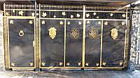 Ворота кованые + забор