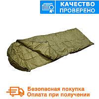 Спальный мешок Mil tec Steppdecken Olive (до -15) с чехлом (14104001)