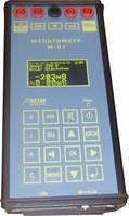 Мультиметр СЦБ измерения тока, сопротивления изоляции, сопротивления постоянного тока, напряжения