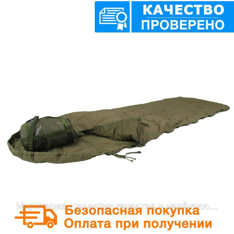 Спальний мішок Mil tec Survival Olive (до -15) з чохлом (200х79см) (14113101)