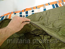 Спальний мішок Mil tec Survival Olive (до -15) з чохлом (200х79см) (14113101), фото 2