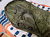 Спальний мішок Mil tec Survival Olive (до -15) з чохлом (200х79см) (14113101), фото 3