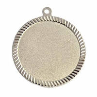 Медаль наградная серебро 60мм