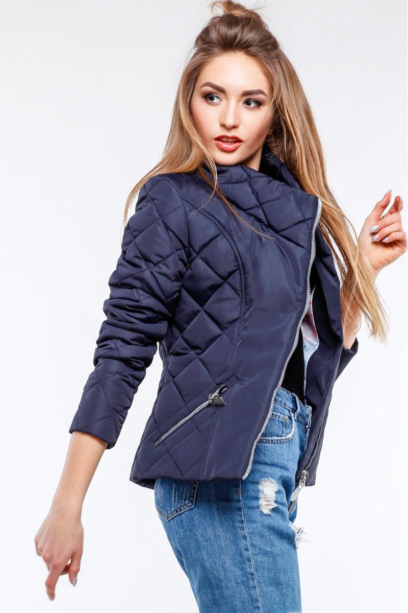 69bc1ecb7cf Синяя куртка женская на весну - Оптово-розничный интернет-магазин
