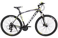 """Горный велосипед найнер TITAN Egoist 21"""" 29"""" (Black-Lightgreen-Gray), фото 1"""
