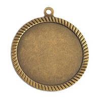 Медаль наградная бронза 60мм