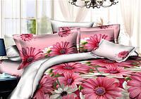 Полуторный  комплект  постельного  океан  цветов