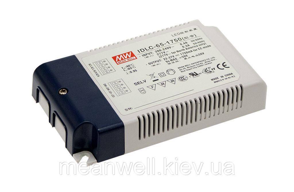 LED драйвер DALI Mean Well IDLC-65-1750DA