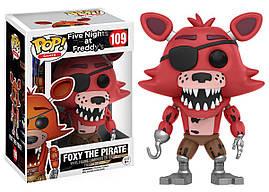 Фігурки 5 ночей з Фредді Пірат Фоксі Funko Five Nights at freddy's - Foxy The Pirate / 109