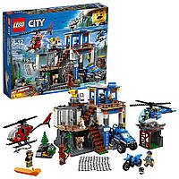 Конструктор Лего Город Штаб-квартира горной полиции LEGO City Police Mountain Police Headquarters