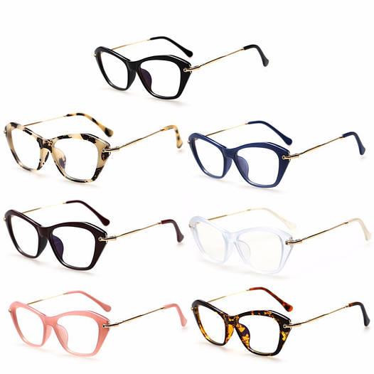 Имиджевые очки кошка  женские фигурные