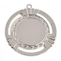 Медаль наградная серебро