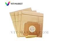 Мешки  бумажные 4шт  Filtero эконом для пылесосов AEG, ELECTROLU, UFESA, ZANUSSI код ELX 02(4)