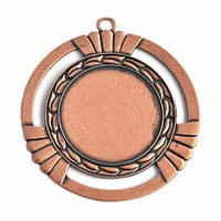 Медаль наградная бронза