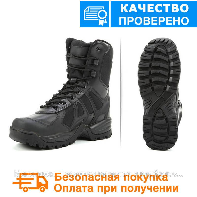 Тактические ботинки (берцы) MIL-TEC Generation II Black 42-46 размеры (12829002)