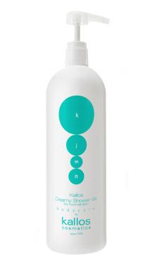 Крем-гель для душу для нормальної шкіри Kallos Creamy Shower GEL 1000мл, фото 2