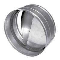 Обратный клапан из оцинкованной стали.