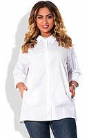 Рубашка белая размер от XL 3086