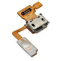 Шлейф для LG P970 Optimus Black, с кнопкой включения, с разъемом зарядки