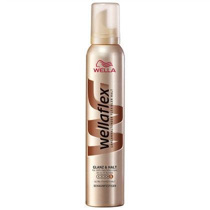 Піна для волосся сильної фіксації Wellaflex Glanz & Halt 200 ml