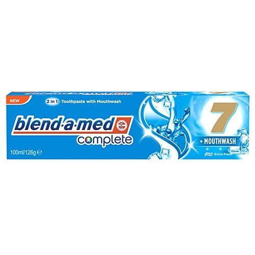 Зубная паста з ополіскувачем Blend-a-med Complete 7 + Mouthwash Extra Fresh