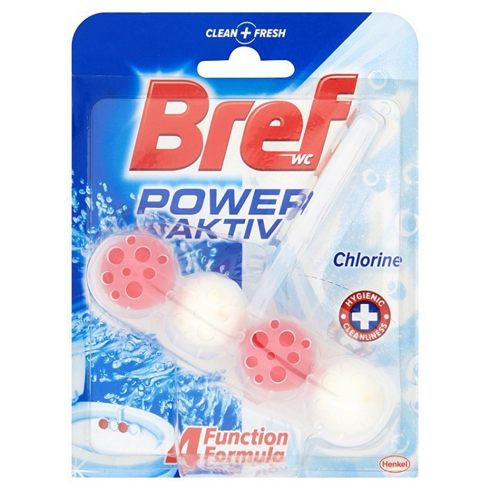 Гігієнічні кульки для унітазу Bref power aktiv Chlorine 50 г