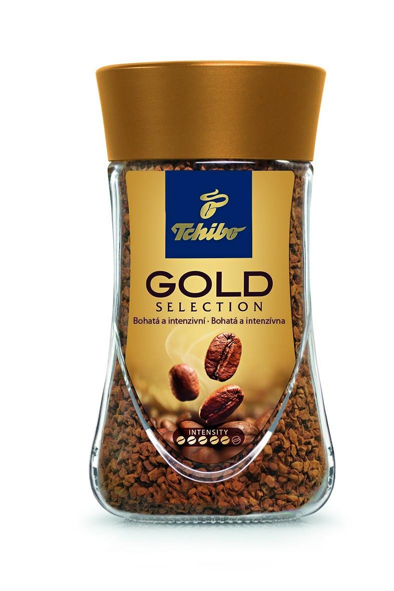 Кава розчинна Tchibo Gold 100% arabica 200 г