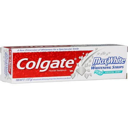 Зубна паста для відбілювання зубів Colgate MaxWhite 100 мл, фото 2