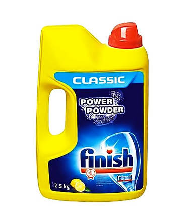 Порошок для посудомийних машин Finish Classic Lemon 2.5 кг , фото 2