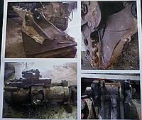 Капитальный ремонт навесного оборудования экскаваторов