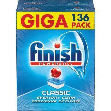 Миючий засіб в таблетках Finish Classic 136 шт, фото 2