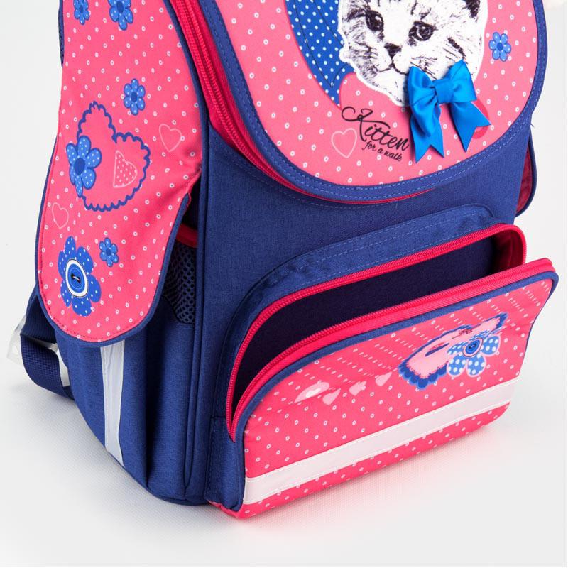acaf63452eb9 Рюкзак школьный каркасный Kite Pretty kitten (K18-501S-7): продажа ...