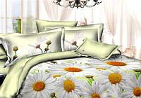Двуспальный комплект постельного беля Ромашки