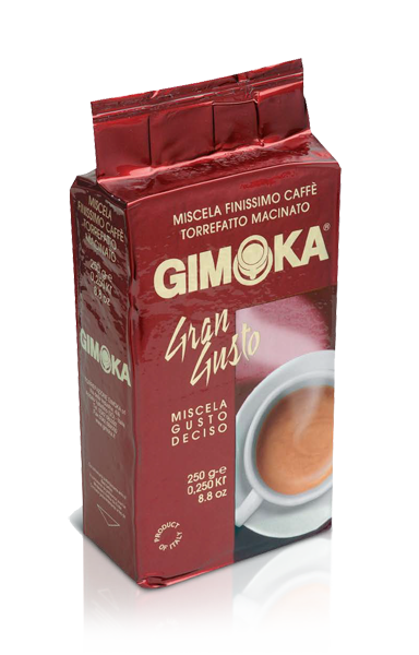 Кава мелена Gimoka Gran Gusto Ricco 250 гр.