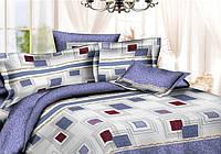 Двуспальный комплект постельного беля Квадраты