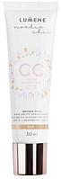 Lumene CC Color Correcting Cream 6in1 Fair 30ml  (оригинал подлинник  Финляндия)