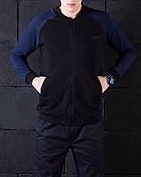 "Pobedov Bomber Coat ""Status"" черно-синяя размер М, Л"