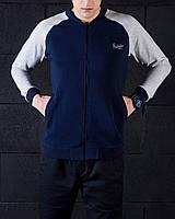 "Pobedov Bomber Coat ""Status"" серо-синяя размер М"