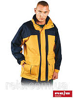Весенняя куртка защищающая от ветра и дождя SPRING-YELLOW YG