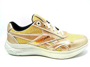 Туфлі Reebok ( Репліка) Cros 50 золото