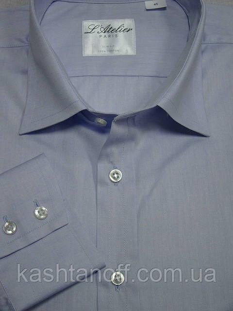 Приталенная рубашка