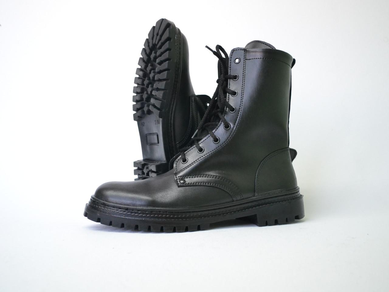 Тактические ботинки из натуральной кожи РА - НАТО Ч