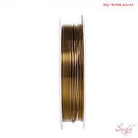 Металлическая проволока 0,8мм бронза для рукоделия
